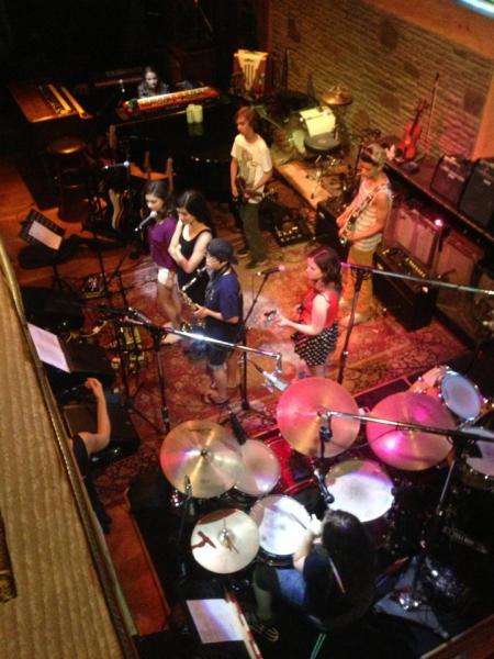 Rock Academy Show Band plays Levon's  Photo: Steve Casa