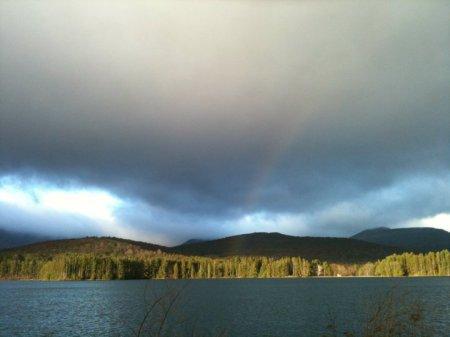 Cooper Lake Rainbow